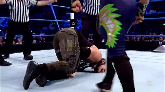 WWE最新赛事:迅猛战士卡利斯托 vs 孤狼巴伦·科尔宾
