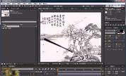 AE模版AE下载AE教程AE片头模版AE特效教程AE制作折扇展开动画