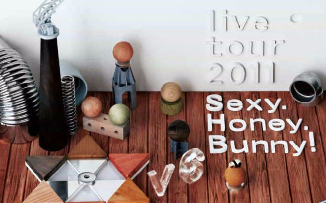 【V6】 live tour 2011 Sexy.Honey.Bunny! 蓝光
