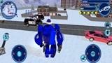 变形机器人英雄,哥布林敲击圣诞机器人的脚趾头,一发火箭炮清除