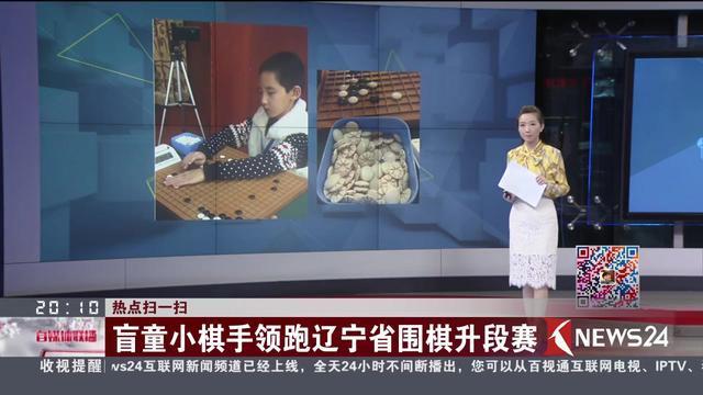 热点扫一扫 盲童小棋手领跑辽宁省围棋升段赛