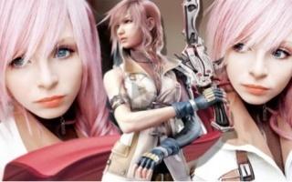 【PeachMilky】[Lightning 埃克莱尔·法隆](日本游戏《最终幻想13》主人公) cos 化妆教程!