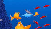 大鱼吃小鱼游戏 小海豚可以吃汽车了