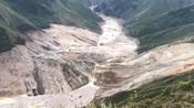 川藏交界金沙江发生山体滑坡形成堰塞湖 长达1公里-60s看懂社会热点-财经365