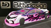 Bittydesign Liquid Mask - How to paint Marc Rheinard's Replica bodyshell.