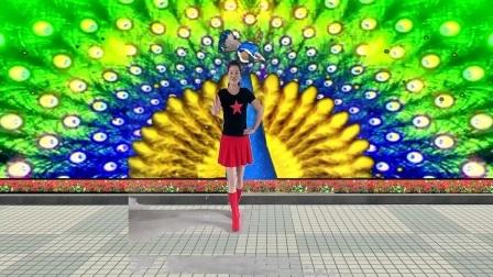 红领巾舞蝶广场舞:《美丽的遇见》原创单人水兵舞