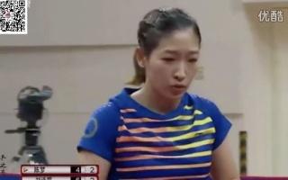 20161031 2016 中国乒乓超级联赛 陈梦 vs 刘诗雯 第5轮 精华 含抢七最后制胜球