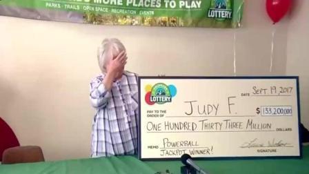 67岁奶奶用同一号码买彩票30年 中9亿大奖