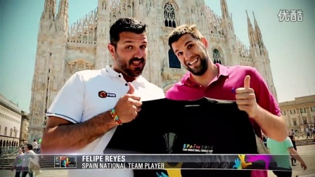 #Spain2014 Trophy Tour stop in Italy