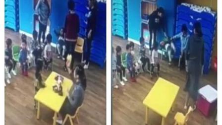 携程亲子园虐童案新视频曝光: 宝宝被绑椅子上挣扎