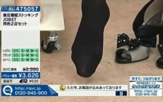 【日本电视购物】丝袜广告 (看个脚)