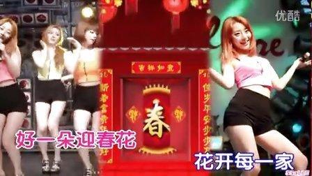 迎春接福卓依婷-迎春花/