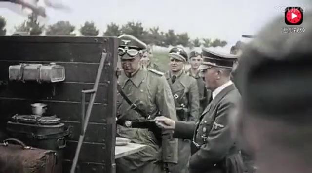 二战德军闪击波兰, 这种震撼场面是詹姆斯卡梅隆也拍不出来_标清