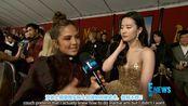 【双语字幕】刘亦菲和擦妈Christina Aguilera在《花木兰》首映红毯典礼上接受采访,擦妈表示花木兰这一形象如何影响她的人生。(字幕为机翻)