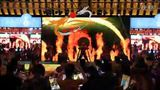 """北京华龙大喜战鼓表演大型威风锣鼓演出年会锣鼓道具租赁水鼓教学培训-""""大型威风锣鼓"""" 精彩花絮"""
