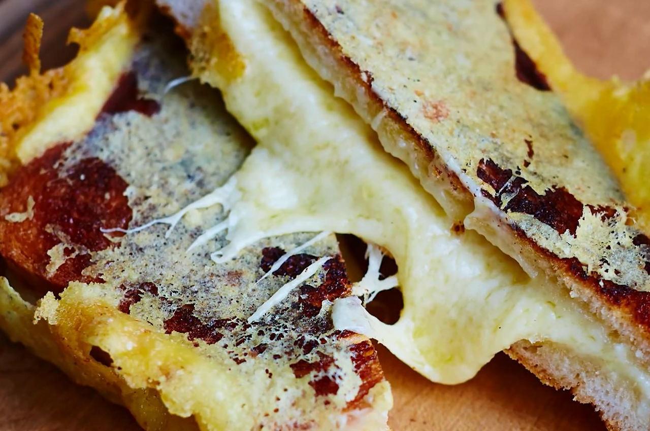 【中文字幕】无敌奶酪三明治 -Jamie Oliver