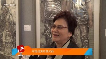"""「吾艺网」""""中国梦·丽人行""""何韵兰专访"""