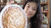 【意大利语中字】尝试1.5kg超大广式五仁云腿月饼 provare una tortone di luna 中秋快乐!!
