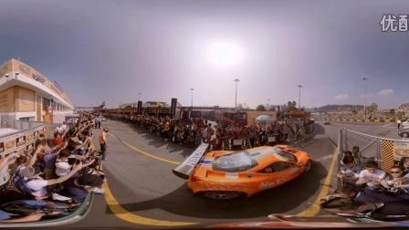 2015澳门第62届格兰披治大赛 GT组发车 VR全景赛车视频