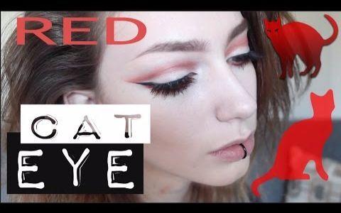 【Jude Karda】红色猫眼 化妆教程