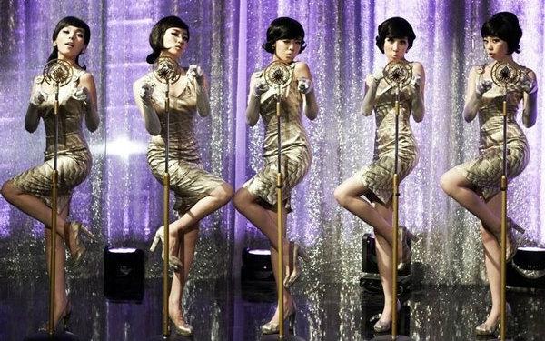 【高清】Wonder Girls-Nobody打歌现场多P