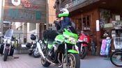被国内一直山寨外观的川崎摩托车,ZRX1200大排量街车