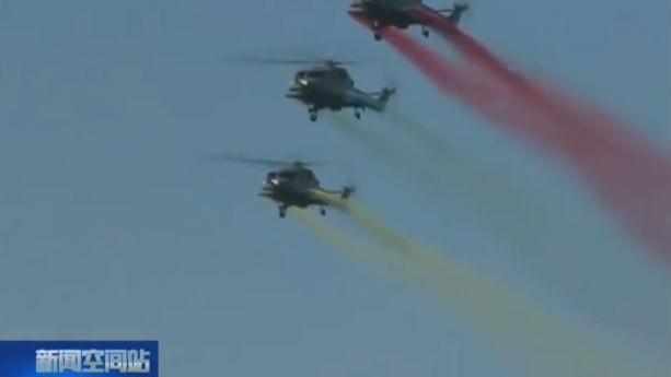"""美国""""卡尔·文森""""号航母与韩国海军举行联合演练"""