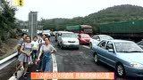 八达岭长城关闭游览 致高速拥堵30公里