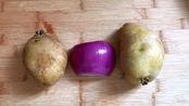2个土豆,半个洋葱,15分钟解决全家人的早餐,比油条还香