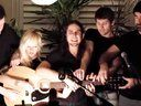 Somebody That I Used to Know Cover (Acoustic) - 5 people on