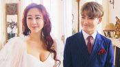 陈华与咸素媛美丽的婚纱现场!两人看起来好恩爱呢!