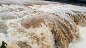 自贡市贡井区旭水河平桥瀑布,中国唯一的城市中的天然瀑布