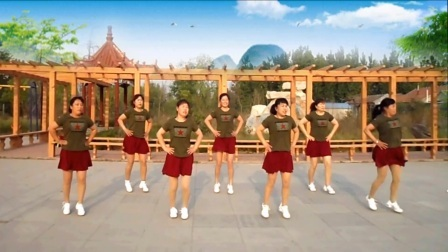 红领巾广场舞欢乐《美丽的遇见》团队版