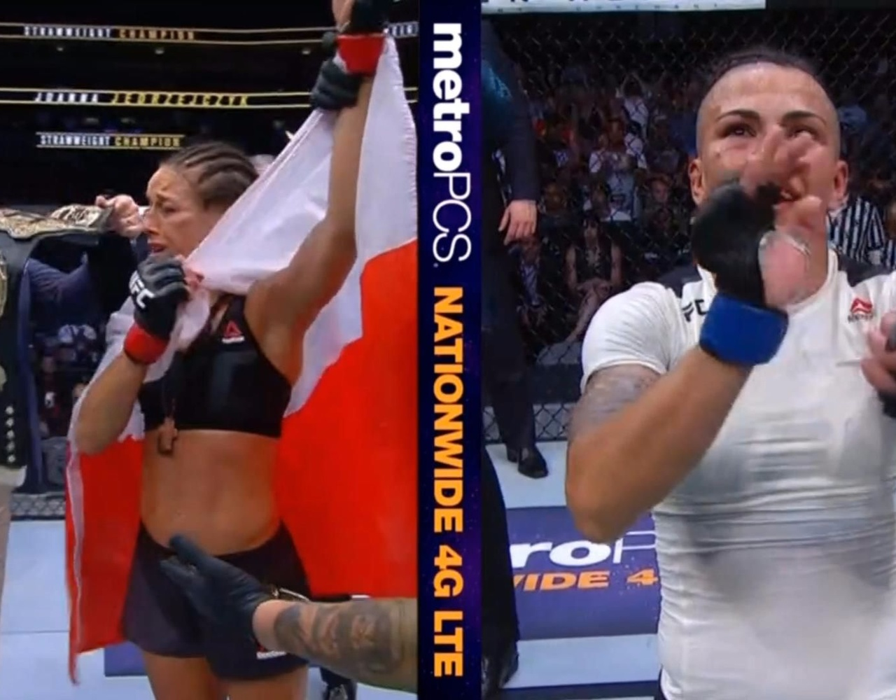 【速报】UFC 211落幕 乔安娜无愧女子世界第一!