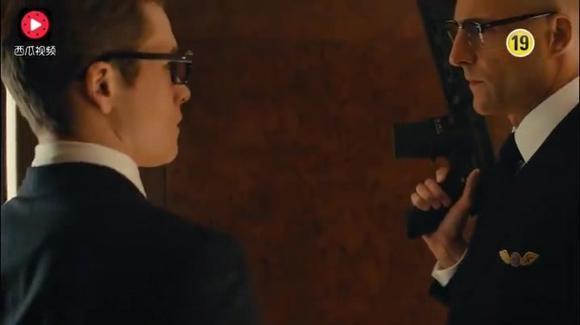 塞缪尔·杰克逊与哈里·哈特|科林·费斯演的经典科幻片《王牌特工:特工学院》精彩片段