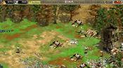 帝国时代黑森林8国混战,耗资源真厉害的