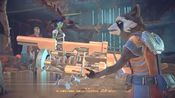 银河护卫队02-星爵被困神殿,利用飞船舰载大炮,轰开大门