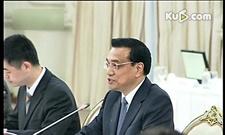 李克强与泰国总理英拉举行会谈时强调发挥中泰关系的示范和引领作用[高清]