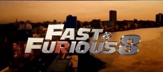 当你用双倍速度看《速度与激情8》感觉会更加刺激!