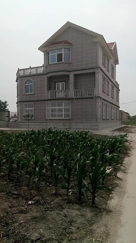 农村别墅10万就能建成。