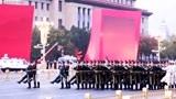2019年11月1日6点42分、天安门广场升旗仪式、太震撼了