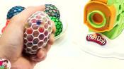 手压彩球玩具,面条机,彩色小屁妮,悠悠玩具城