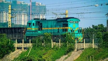 火车视频集锦---宁芜线8 清明小运转