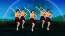 民族歌曲广场舞《水月亮》一弯清清的水 一河柔柔的浪,歌醉舞美