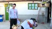 张峻豪和姐姐上演《红高粱》选段,小家伙可认真了