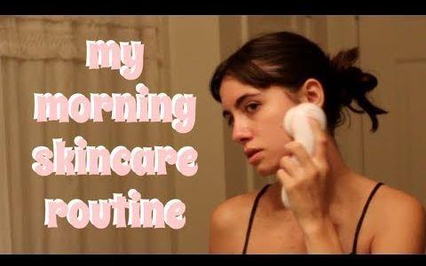 【Alicia Claire de Mello】我早上的护肤程序