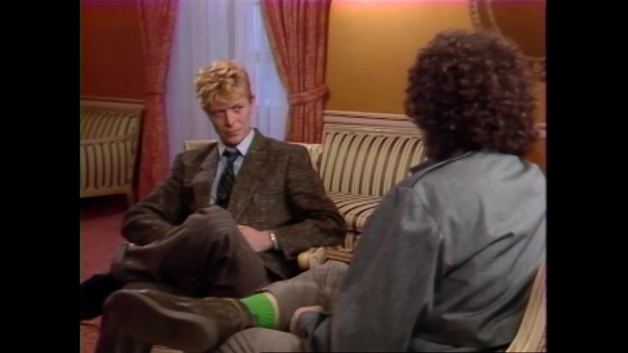 [David Bowie] 大卫鲍伊mtv采访质疑其不播放黑人音乐人mv