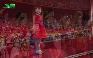【北京奥运】北京奥运会开幕式升旗仪式亚视直播画面