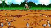 黄金矿工:就近原则,先选择近处的黄金,才能获得更多的金块!