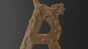 在Cinema 4D中制作3D徽标并在Redshift中进行渲染 www.c4dcn.com